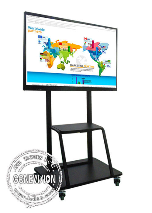 85 Inch 4k Big Education School Digital Tv Conference Room Interactive Flat Board For Video Meeting