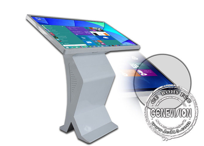 All-in-One PC 55inch Touch Podium Windows 10 Interactive Query Machine i3/i5/i7 Touch Computer with Wifi