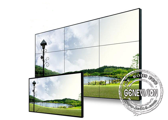 Samsung Original Panel DID 3x3 Video Wall Screen with Matrix , 16 input / output , HDMI1 port