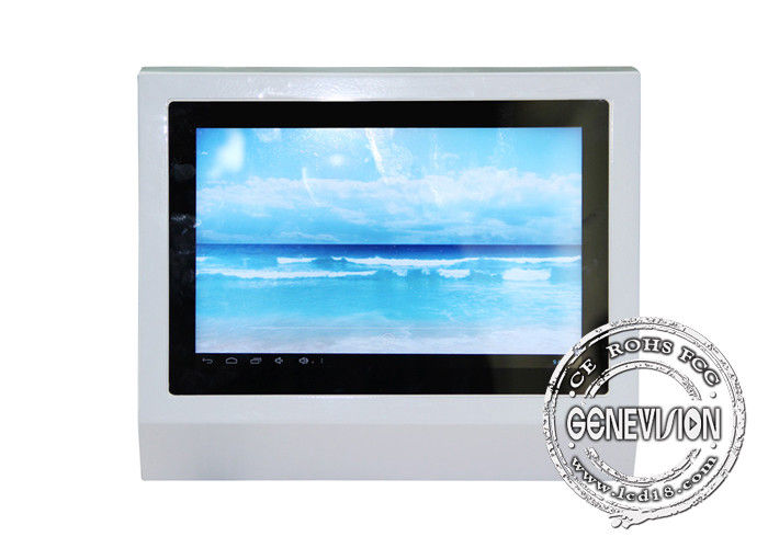Android System LCD Wall Mounted Kiosk 10.1 Inch Humanized Design For Washing Room