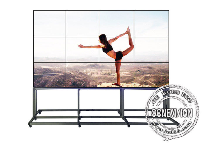 3.5mm Narrow Bezel Free Standing Digital Signage Full HD 1080i/1080P 50/60Hz