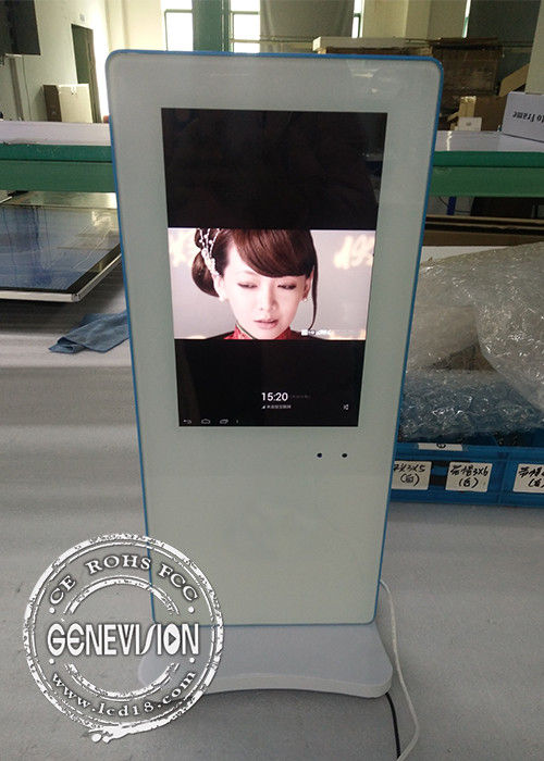 HD High Resolution Table Standing Advertising Kiosks Displays 10.1 Inch With 3G/4G/5G