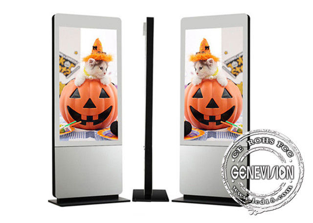 Interactive Kiosk Wifi Digital Signage HD Screen 42'' Lcd Touch Screen Aluminum Profiles