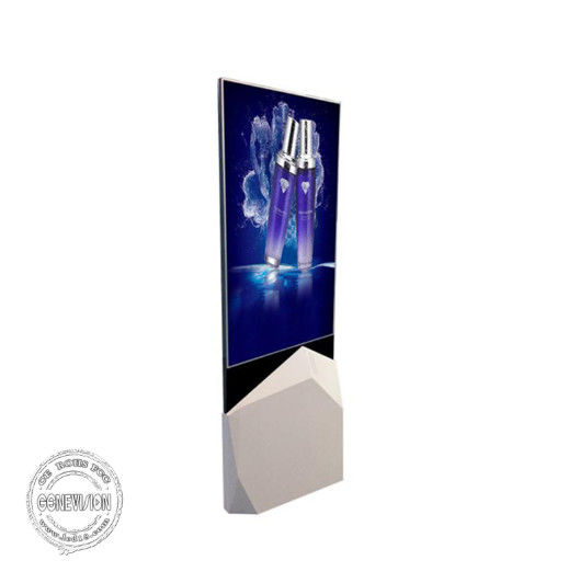 OLED Kiosk Digital Signage Ultra Slim Transparent Double Sided 500 Nits For Exhibition