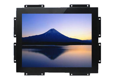 Black Open Frame LCD Display With Publishing System For Advertising