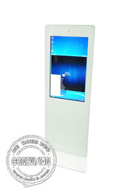 China Ultra HD Lcd Standing Self Help Touch Screen Kiosk All In One With Web Camera factory