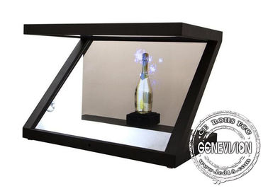 "China 10.1""-84"" Transparent 3D Holographic Display Showcase , 3d hologram display Projector for Product Promotion factory"