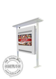 TFT Full HD Standing Hall Outdoor Digital Signage Totem 1920*1080 Resolution