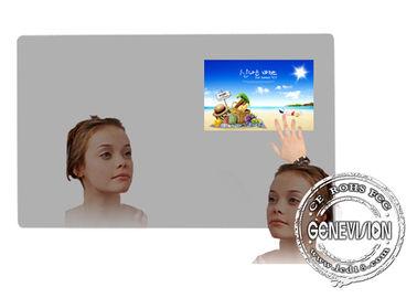 Magic Mirror Remote Control Wifi Digital Signage 43inch Bathroom Mirror TV Player with Body Sensor