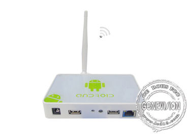 Android OS WIFI Digital Signage Media Player Box With Remote Control Software , 3G Optional
