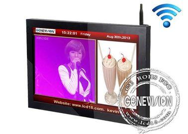 China 110V - 240V AC Advertising Wifi Digital Signage Displays With Format Sd Card factory