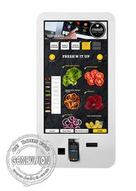 Touch Screen POS machine Self-service Interactive Display Restaurant Smart Wall mount LCD Display