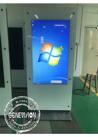 PCA Touch Screen Kiosk Dual Screen Totem Touch Computer Kiosk Double Side 1080p Smart
