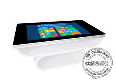 700Cd / m2 Windows 10 Wifi Digital Signage 43 inch Waterproof PCAP Touch Table Wireless Charging
