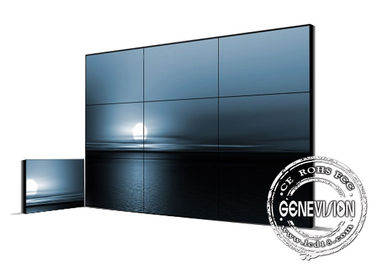 China Splice High Brightness Narrow Bezel 3.5mm DID Monitor 46inch 49inch 55inch LCD Digital Signage Video Wall factory