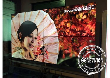 China CCC 250W 55 Inch LCD Digital Signage Video Wall Ultra Narrow Bezel 1.8mm factory