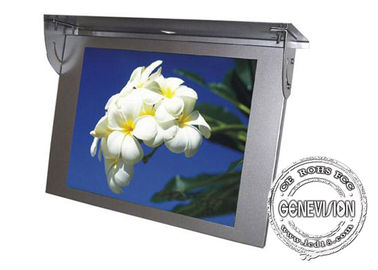 Wall - Mount Bus Digital Signage 21.5 Inch , Gps Tracker Bus Media Player With 3g / 4g