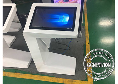 China Capacitive Touch Screen Kiosk , Win10 Wifi Multi Touch Interactive Kiosk factory