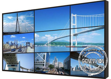 55 Inch Seamless Splice Video Wall Digital Signage Lcd Screen 500 Nits