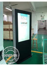 China Temperature Control Anti-Glare Advertising LCD Digital Signage Touch Screen Kiosk Monitor With HDMI Input factory
