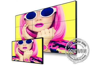 China Matrix Daisy Chain 55 inch Ultra Narrow Bezel Digital Signage HDMI Video Wall 450nits LCD Video Wall Monitor factory
