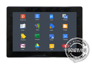 Taxi PCAP Touchscreen Bus Digital Signage , Car Media Player with Camera , GPS
