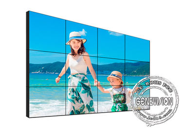 700 Nits LCD Video Wall Monitors 1.8mm Narrow Bezel 10 Point Touch