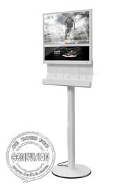 China Full HD Charging Station Kiosk Digital Signage 18.5 Inch LED Light Box LCD Advertising Device factory