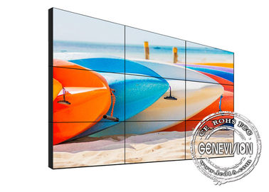 China Samsung Big Screen Digital Signage Video 65 Inch 3.5mm Narrow Bezel 700cd/m2 High Brightness factory