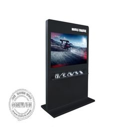 China Free Standing Kiosk Digital Signage Horizontal Screen 4K 65 Inch Full HD 1080*1920 factory