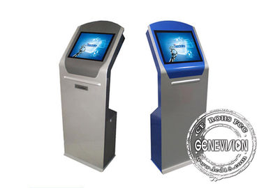China 17 inch Advertising Touch Screen Kiosk Windows 10 Touchscreen Information Kiosk with Thermal Printer factory