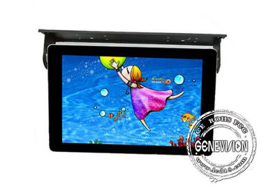 21.5inch Android Bus Digital Signage Ceiling Mount Shockproof Taxi LCD Media Player Remote Control Wifi