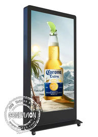 Android 6.0 Touch Screen Outside Digital Signage 65 Inch Face Recognition Camera LCD Advertising Kiosk