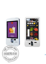 China 32 inch Self Service Payment Kiosk Win10 Restaurant Smart LCD Payment Machine factory